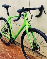"Велосипед 28"" Merida SILEX 300 (2020) glossy green 3"