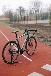 "Велосипед 28"" Pride RoCX 8.2 (2020) green/black 0"