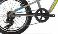 """Велосипед 20"""" Haibike SEET Greedy 20 SF 2019 серый 2"""
