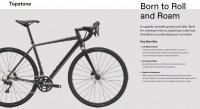 "Велосипед 28"" Cannondale TOPSTONE 105 (2020) graphite 0"