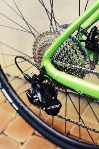 "Велосипед 28"" Merida SILEX 300 (2020) glossy green 7"
