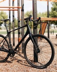 "Велосипед 28"" Merida SILEX 200 (2020) metallic black 3"