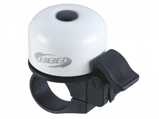 Велосипедный звонок BBB-11 Loud & Clear белый
