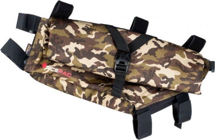 Сумка на раму Acepac ROLL FRAME BAG L, камуфляжная