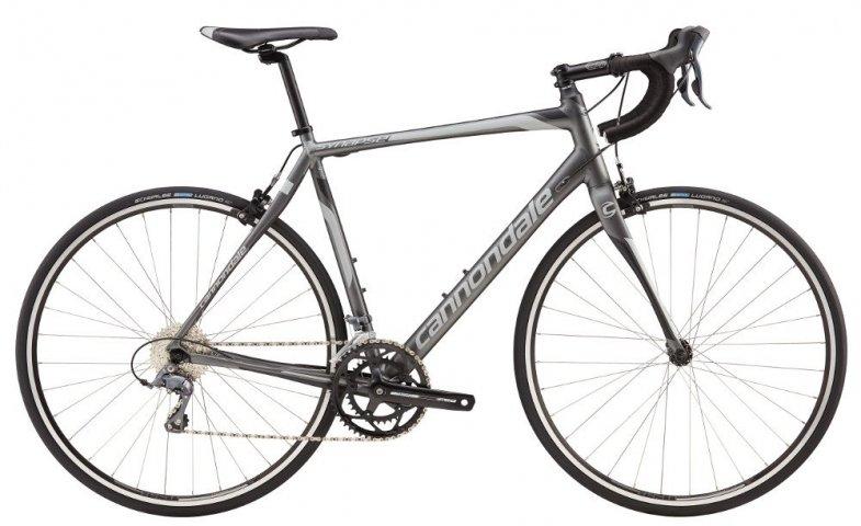 Велосипед Cannondale SYNAPSE 8 CLARIS C 2016 grey
