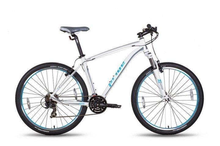 Велосипед PRIDE XC-650 V-br 2015 бело-синий матовый