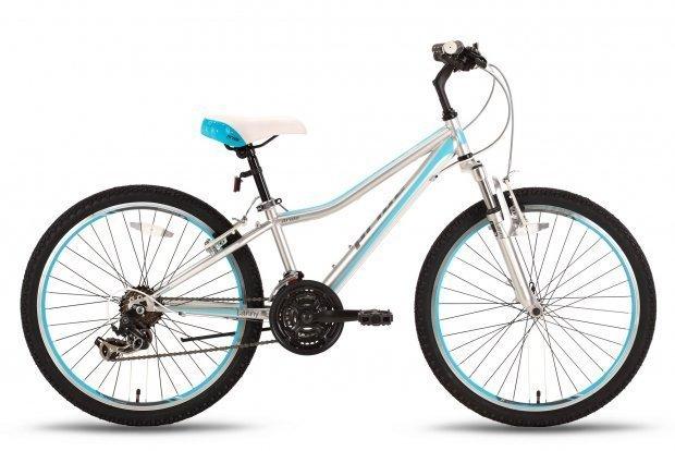 Велосипед PRIDE LANNY 21SP 2016 серо-бирюзовый матовый