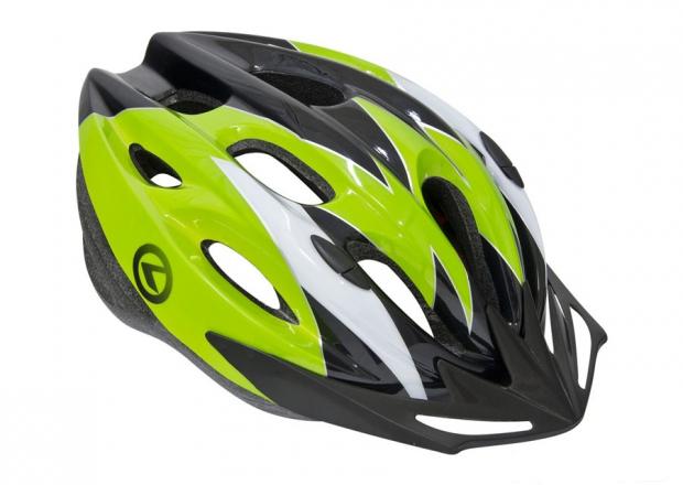Шлем BLAZE черный-зеленый, размер M/L