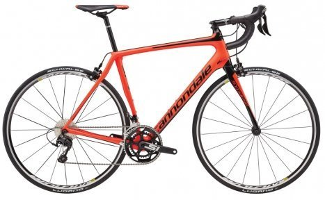 Велосипед Cannondale Synapse Carbon 105 2016 red