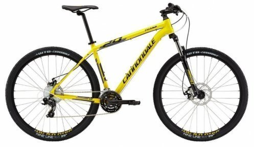 "Велосипед Cannondale Trail 7 27,5"" 2015 yellow"