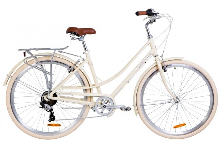 "Велосипед 28"" Dorozhnik Sapphire 2019 бежевый"