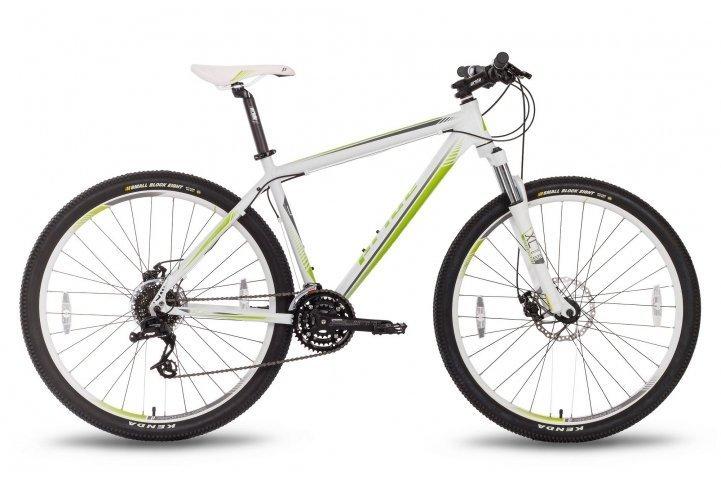 Велосипед PRIDE XC-29 MD 2016 бело-зеленый матовый