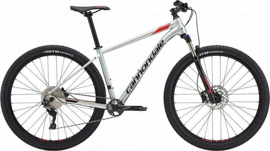 "Велосипед 29"" Cannondale Trail 4 2019 SGG серый"