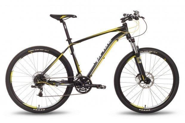 Велосипед PRIDE XC-650 RL 2016 черно-желтый матовый