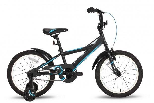 Велосипед PRIDE OLIVER 2016 черно-синий матовый