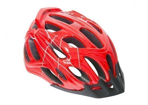 Шлем DARE красный, размер S/M
