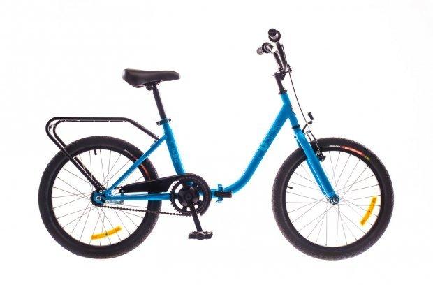 """Велосипед Dorozhnik FUN 20"""" 2016 синий"""