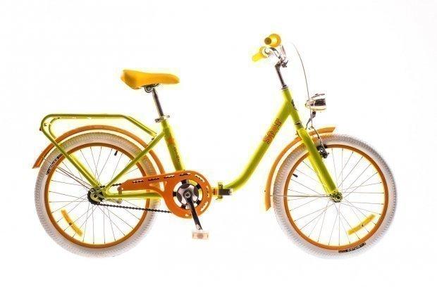 """Велосипед Dorozhnik STAR 20"""" 2016 желтый"""