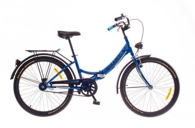 """Велосипед Dorozhnik SMART 24"""" 2016 синий"""