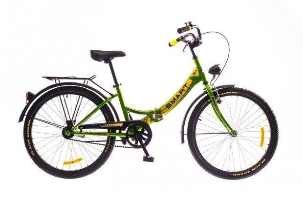"""Велосипед Dorozhnik SMART 24"""" 2016 зеленый"""
