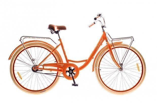 "Велосипед Dorozhnik LUX 26"" 2016 оранжевый"
