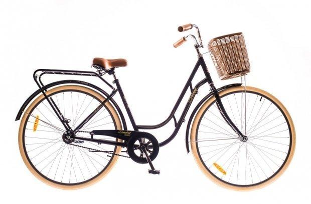 """Велосипед Dorozhnik RETRO 28"""" 2016 черный"""