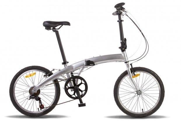 Велосипед PRIDE MINI 6 2016 серый глянцевый