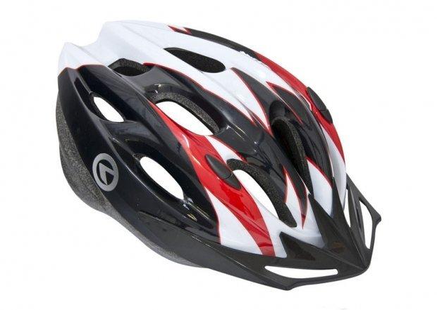 Шлем BLAZE белый-красный, размер S/M