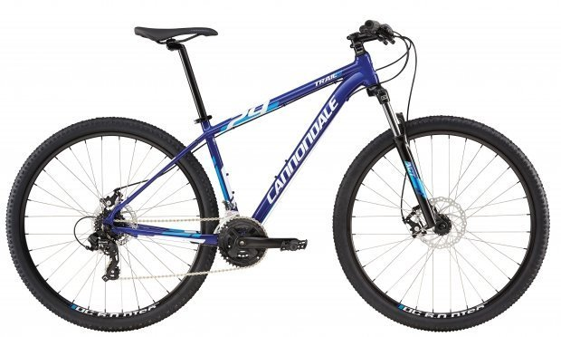Велосипед Cannondale TRAIL 8 29 2016 blue