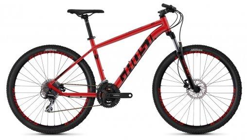 "Велосипед 27,5"" Ghost Kato 2.7 riot red / night black"