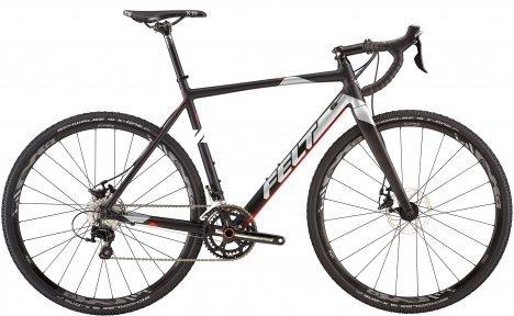 Велосипед Felt F65X матовый черный