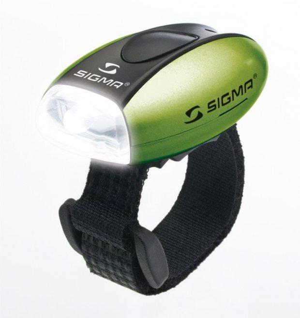 Габаритный свет Sigma MICRO GREEN/LED-White