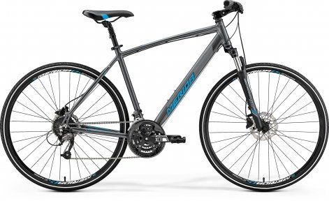 "Велосипед 28"" Merida CROSSWAY 40-D 2019 dark silver"
