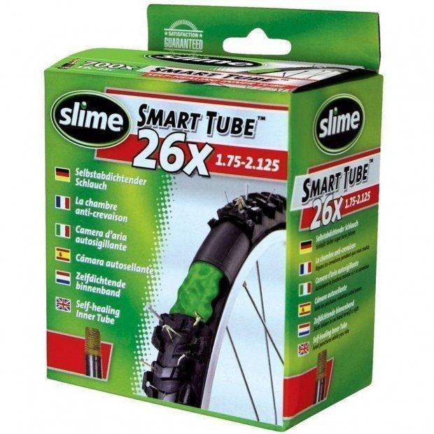 Антипрокольная камера с жидкостью Slime (26 x 1.75 - 2.125) Presta