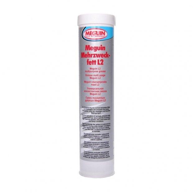 Смазка многофункциональная (консистентная) Meguin Mehrzweckfett L2, 400мл