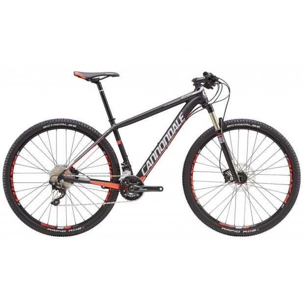Велосипед Cannondale F-Si 3 29 2016 черный матовый