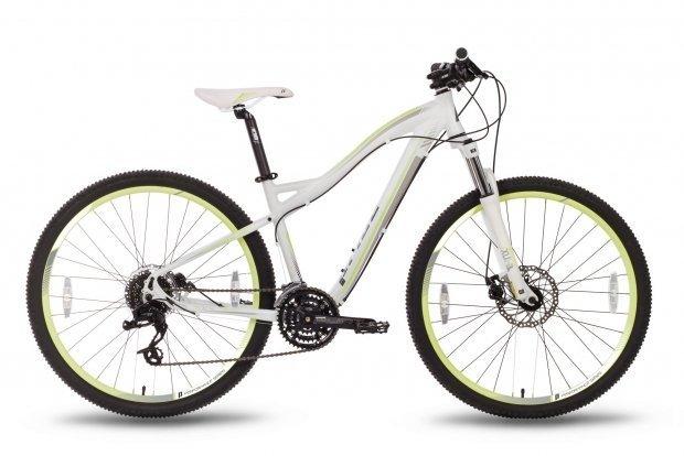 Велосипед PRIDE XC-650 MD W 2016 бело-лаймовый матовый