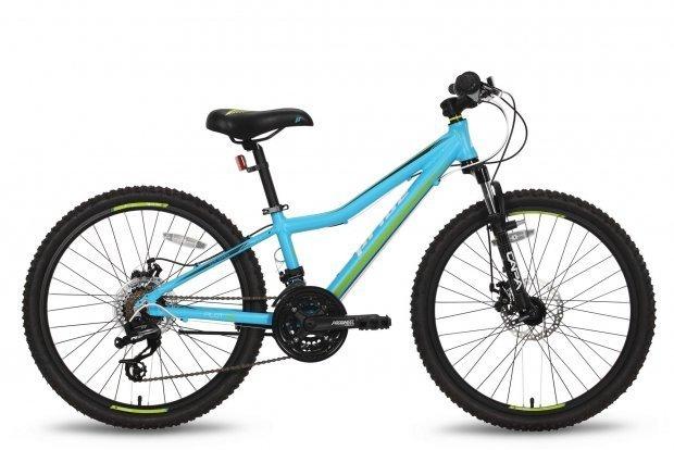 Велосипед PRIDE PILOT RACE 2016 сине-зеленый матовый