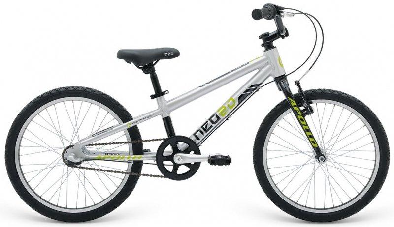 """Велосипед 20"""" Apollo Neo 3i boys черный/лайм"""