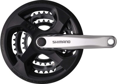 Шатуны Shimano FC-M131 170мм, защита звезд