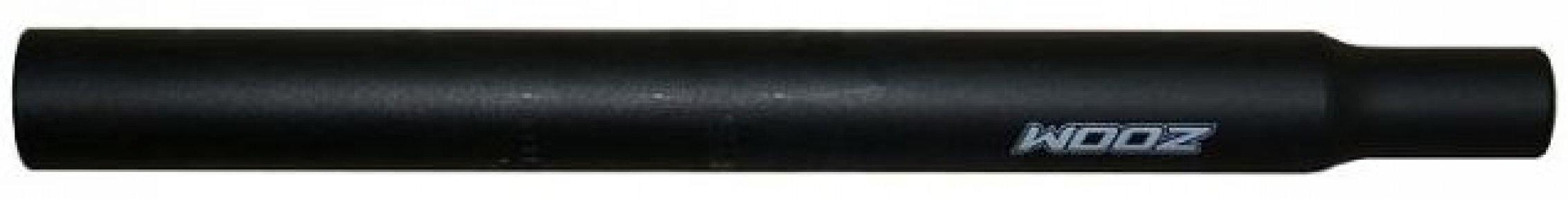 Подседельная труба ZOOM SP-102/EN-M 25,4 x350 мм без замка алюмин. black