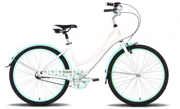 Велосипед PRIDE CLASSIC 2016 бело-синий глянцевый