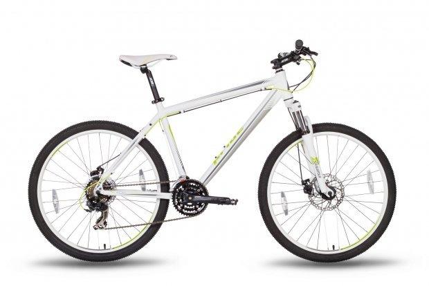 Велосипед PRIDE XC-26 MD 2016 бело-зеленый матовый
