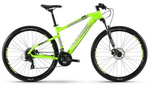 Велосипед Haibike SEET HardNine 2.0 зеленый 2018