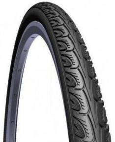Покрышка 24x1 3/8 (37-540) Mitas HOOK V69 Classic, черная для колясок