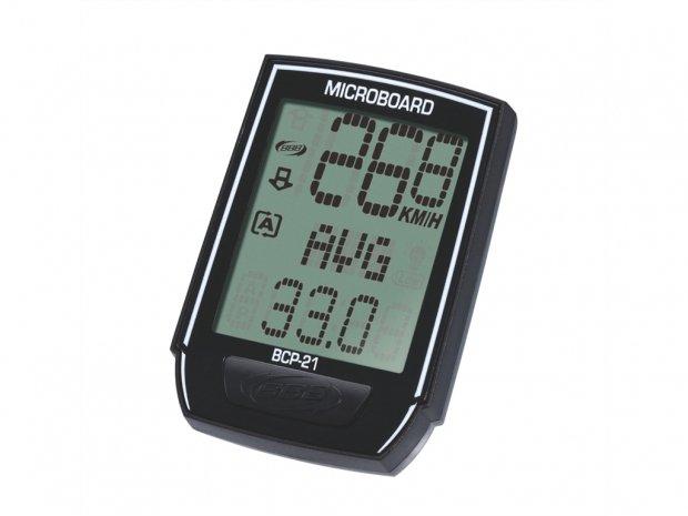 """Велокомпьютер BCP-21 """"MicroBoard"""" 8 функ. Черный"""