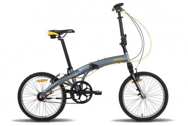 Велосипед PRIDE MINI 3 RST 2016 серо-оранжевый матовый