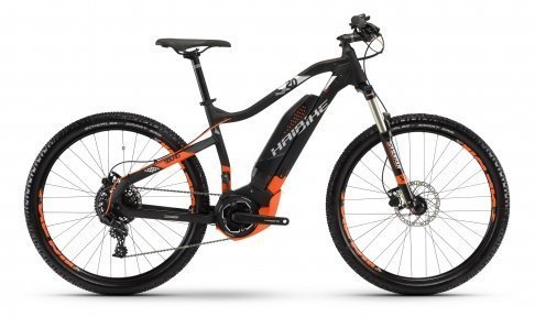 Велосипед Haibike SDURO HardSeven 2.0 400Wh черный 2018