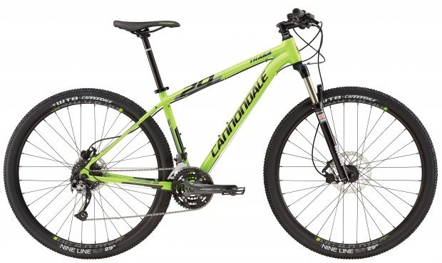 Велосипед Cannondale TRAIL 4 29 2016 green