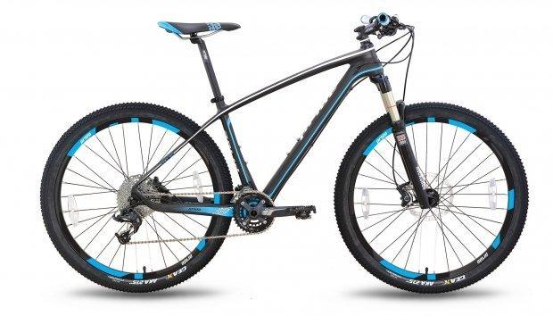 Велосипед PRIDE XC-650 PRO 3.0 2016 черно-синий матовый